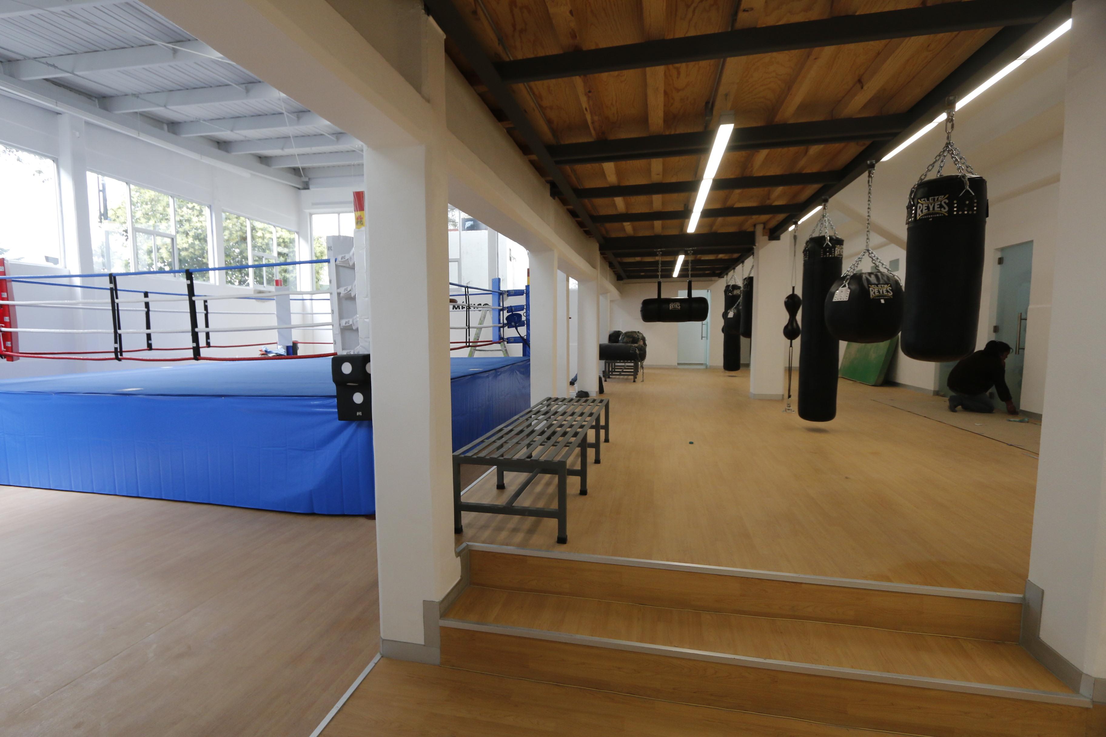 Remodelaci n del centro de desarrollo del deporte gral for Viveros en toluca